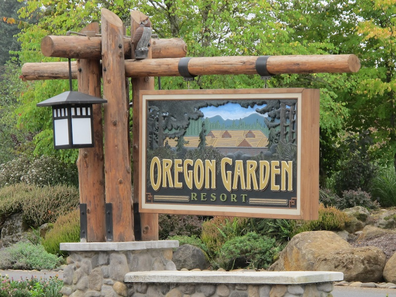 admission to the garden included how cool is that - The Oregon Garden